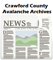 Crawford County Avalanche Archive Files